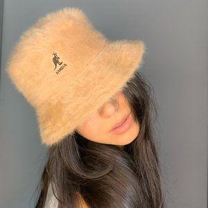 🦧 KANGOL Faux-Fur Bucket Hat 🦧